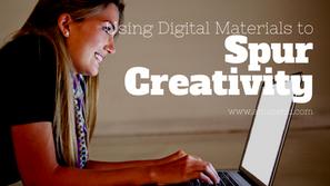 Using Digital Materials to Spur Creativity