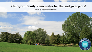 Grab your family, some water bottles and go explore!