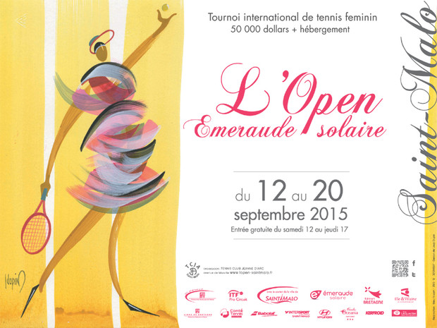 OPEN EMERAUDE 2015