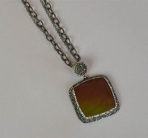Sunset Necklace...SOLD