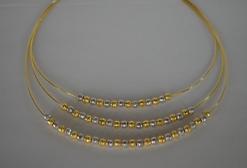 3 Tier Beaded Necklace...SOLD