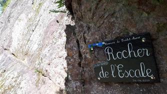 Rocher école de l'Escale à Fréchet-Aure