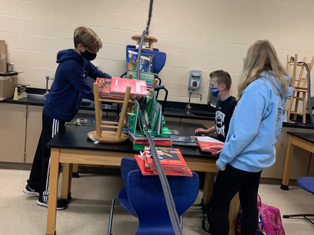 7th Grade Marble Roller Coasters