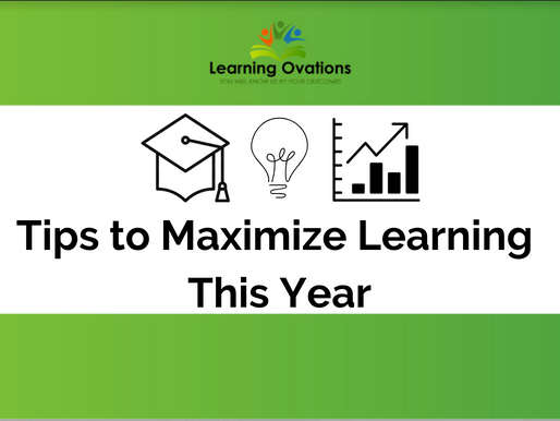Tips to Maximize Learning this Year