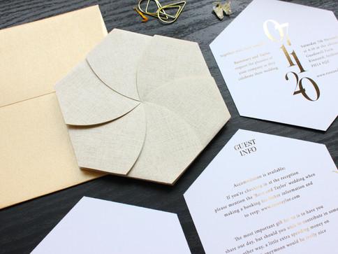 Gold Origami Wedding Invite [2].JPG