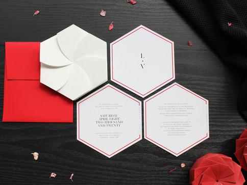 Red & White Origami Invite [1].JPG