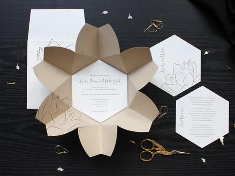 Natural Floral Origami Wedding Invite [1].JPG