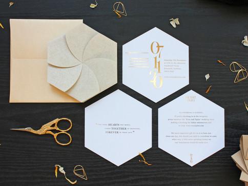 Gold Origami Wedding Invite [3].JPG