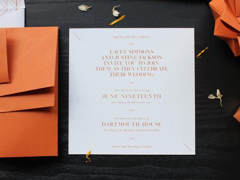 Rust Modern Origami Wedding Invite [4].J