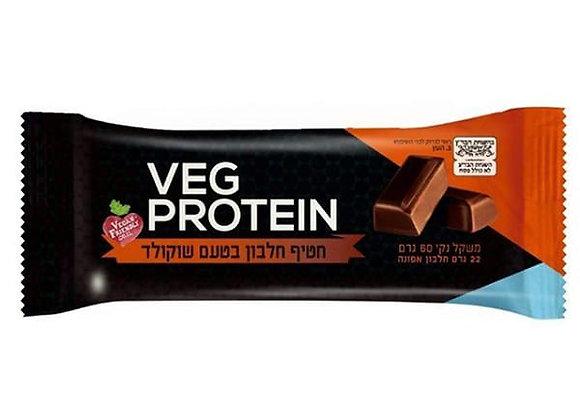 Veg protein-חטיף חלבון בטעם שוקולד