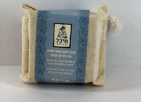 מיכל סבון טבעי- סבון רחצה טבעי מאזן בוץ ים המלח