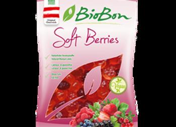 ביו בון- סוכריות גומי אורגניות בטעם פירות אדומים