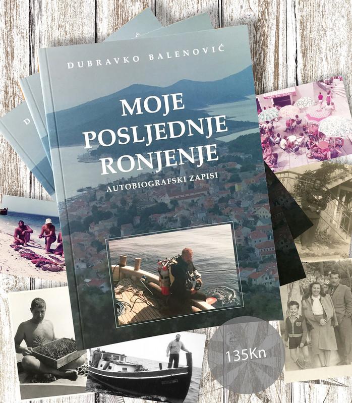 Knjiga memoara Dubravka Balenovića