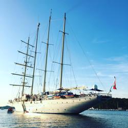 Mega yachts in Lošinj