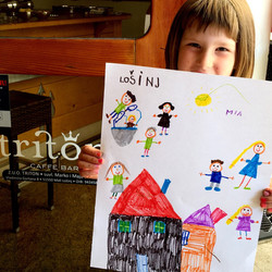 One our little summer artists