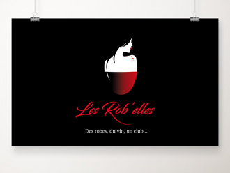 LES ROB'ELLES, conception du logo