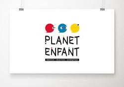 LOGO Planet Enfant