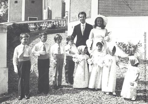 1971 - Mariage de mes parents