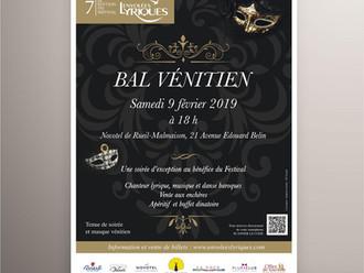 Bal masqué Opera Belcanto : présentation de l'identité visuelle de l'évènement