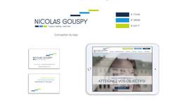 Nicolas Gouspy, coach certifié : présentation de son identité visuelle