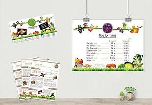 Affiche, flyer, menu Papillades