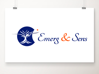 EMERG & SENS, conception du logo