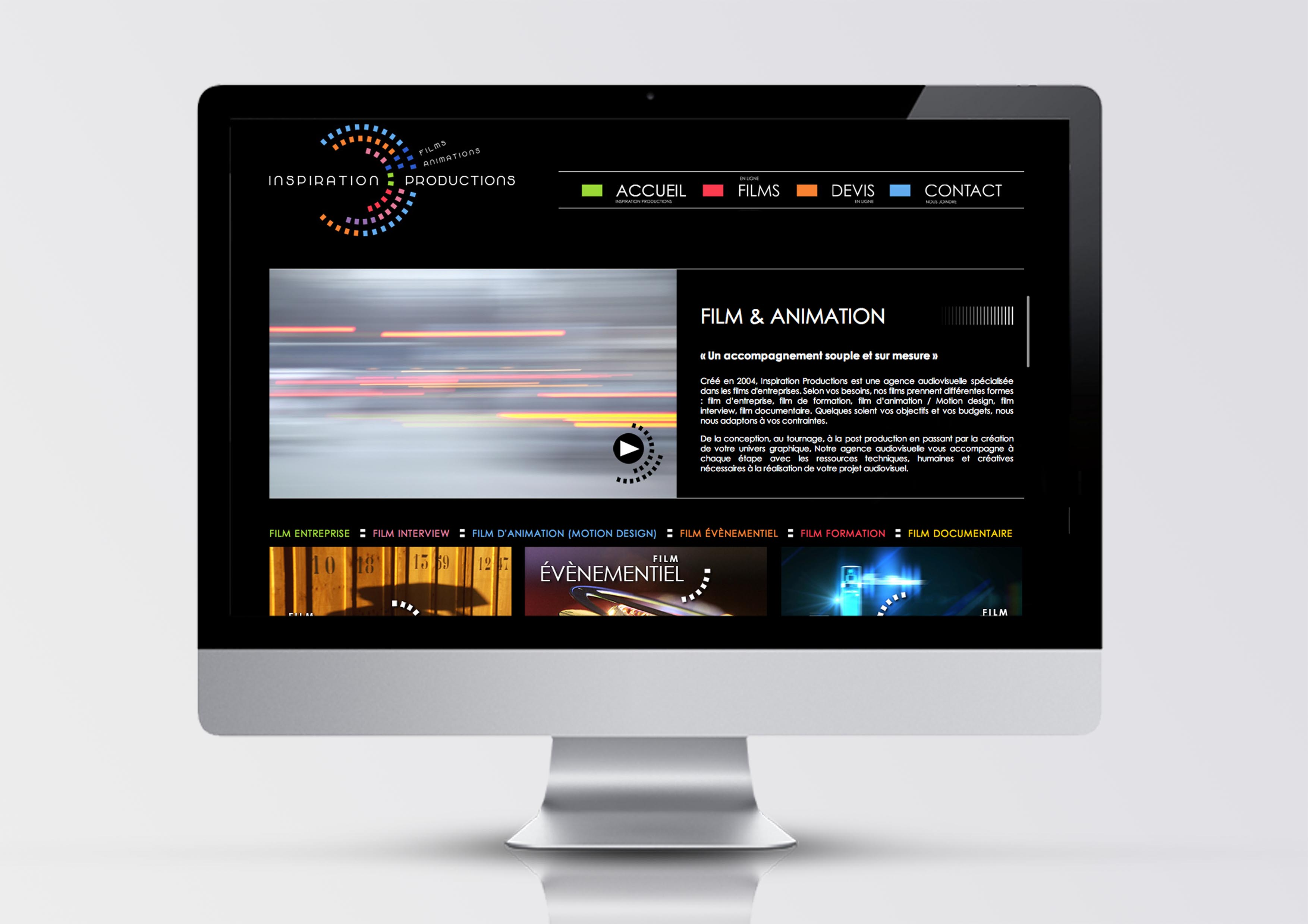 Web design Inspiration Productions