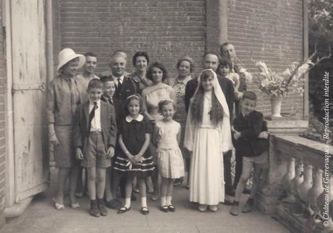 1964 - Communion solennelle de ma tante, Dom