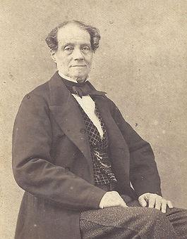 Portrait de notre ancêtre Philippe de Gineste-Najac, né dans les prisons de la Révolution, il restaure le château et devient maire de Garrevaques.