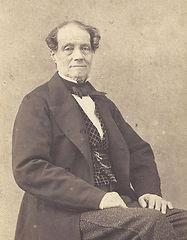 Portrait de notre ancêtre Philippe de Gineste-Najac, né dans les prisons de la Révolution, il restaure le domaine et devient maire de Garrevaques.