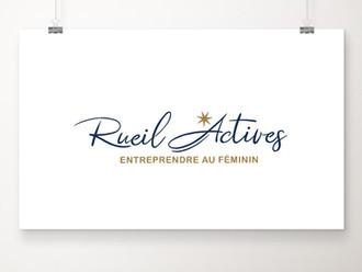 Un logo pour Rueil Actives, un réseau d'entrepreneuses au féminin