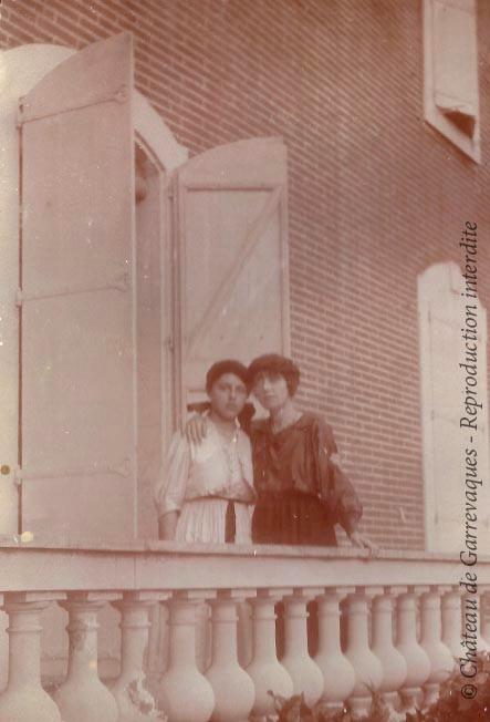 1920s - Odette and Genevieve de Gineste