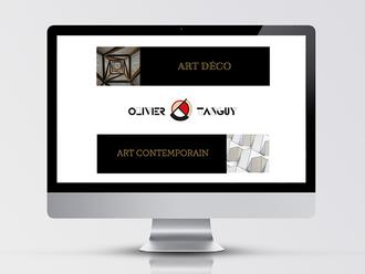 OLIVIER TANGUY, web design