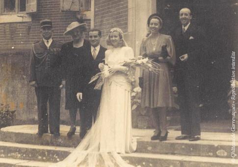 1946 - Mariage de mes grands-parents