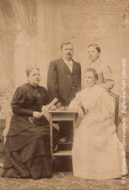1915 - Family of Max Bazin and Lucy