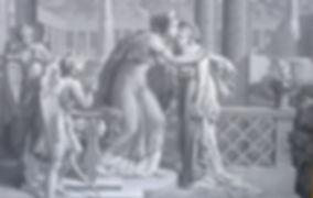 Papier peint panoramique originel réalisé par la Manufacture Joseph Dufour en 1815 et présent au Château de Garrevaques.