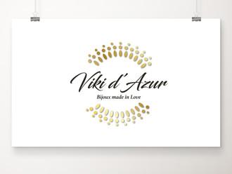 Un logo pour la marque Viki d'Azur