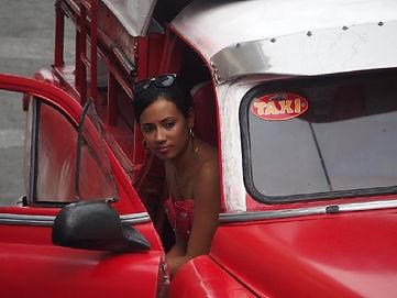 Eddy Plateau Femme au Taxi 1ier Prix du