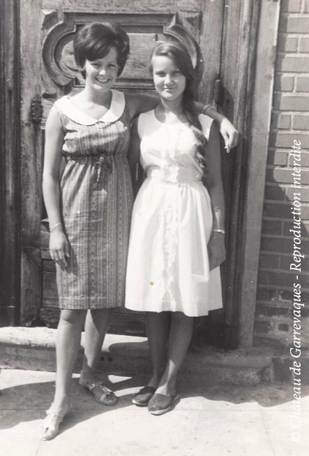1960 - Ma tante et Sally, une amie anglaise