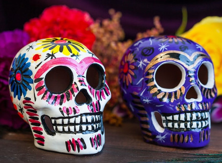 "EVENT! Find Sapient's ""BONE BOOTH"" on Oct. 31st, 4pm @ CU to celebrate Halloween/Dia de los Muertos!"