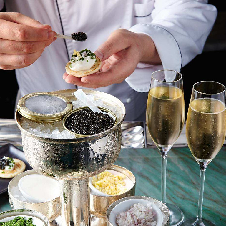 DLV Caviar and Champagne Tasting