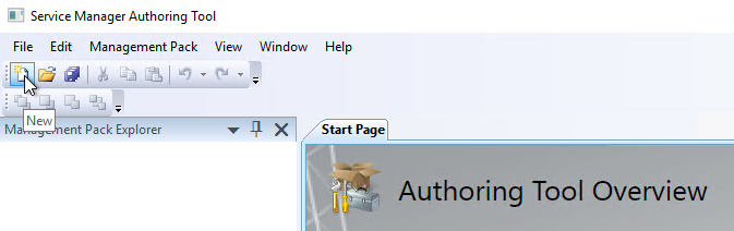 Create SCSM Views Management Pack MP