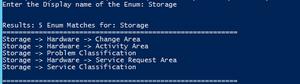 SCSM Enumeration Path via PowerShell