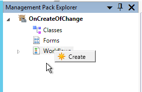 Using PowerShell in SCSM workflows - Create a Management Pack