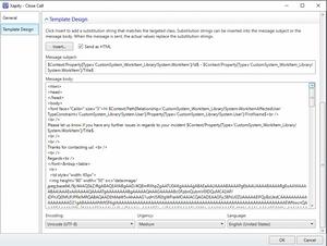 SCSM Image Templates - Template Design - HTML