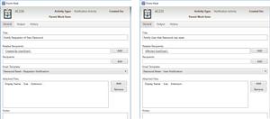 Xapity Notification Activities - SSP Password Reset