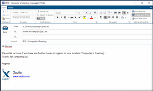 Xapity Mail - Template and Image