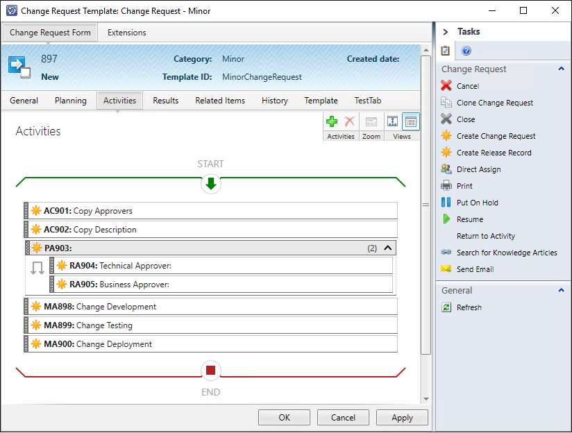 User Xapity PowerShell Activity to copy Approvers and Description in a workflow