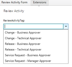 Review Activity Tag