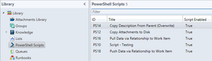 Central Script Library - Xapity PowerShell Activity for SCSM